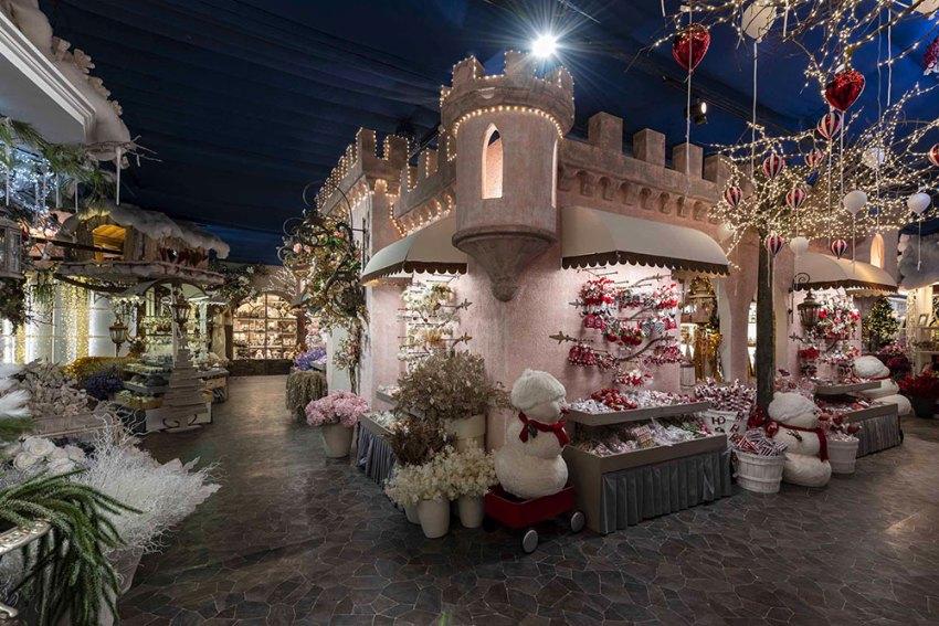 Il Villaggio di Natale di Flover Garden Center di Bussolengo (VR)