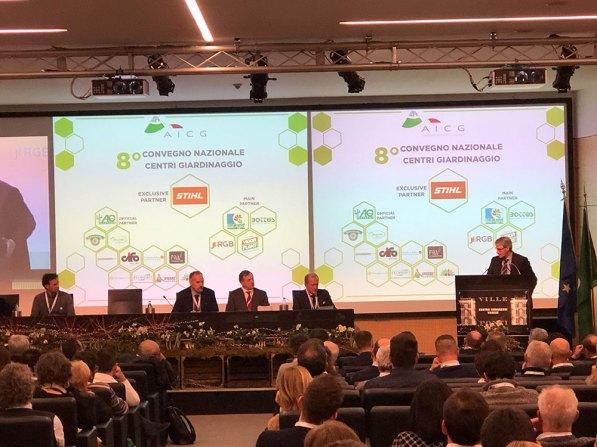 8° convegno nazionale della AICG (Associazione Italiana Centri Giardinaggio)