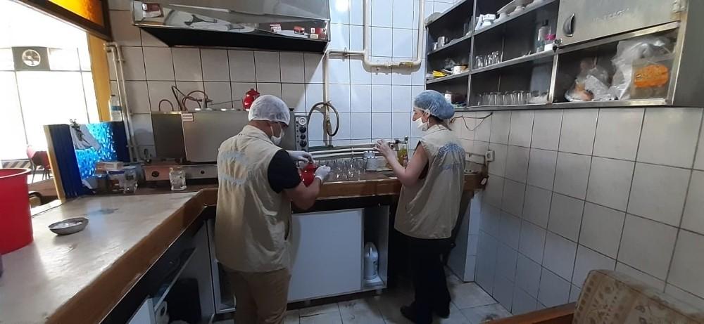 Diyarbakır'da gıda işletmelerine korona virüs denetimi