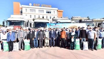 Diyarbakır'da 650 çiftçiye 4 milyon lira değerinde 210 ton mercimek tohumu desteği