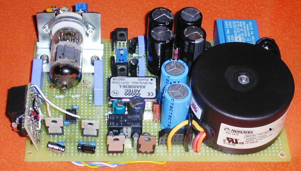 Simple Hybrid Audio Amplifier Circuit Diagram