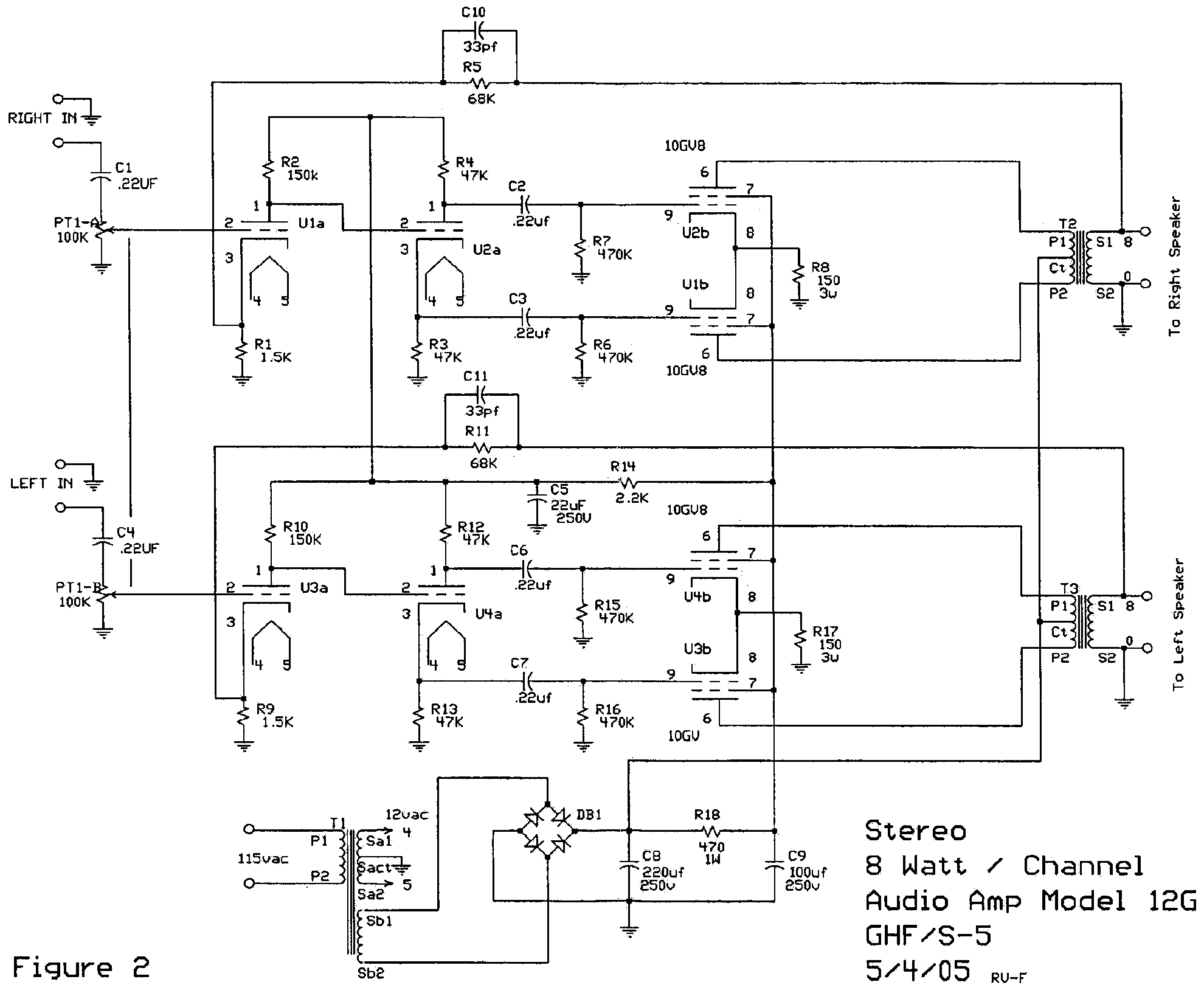 Car Audio Amplifier Schematic Tube