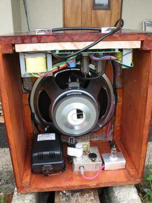 DIY Guitar Amplifier  Inside  DIY Audio Projects Photo