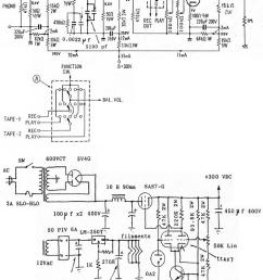 6dj8 tube phono and line preamplifier schematic [ 760 x 1070 Pixel ]