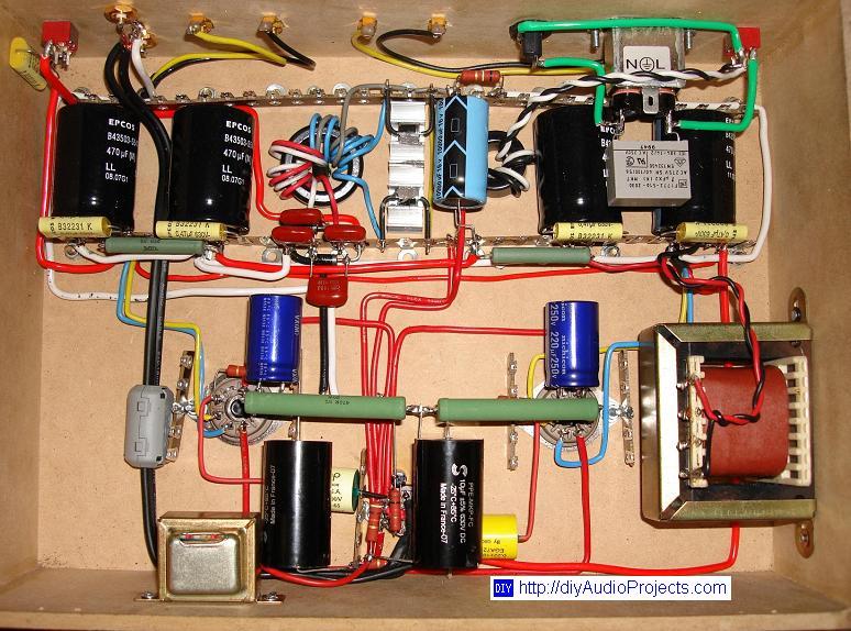 Se 6550 Tube Amplifier Diy Single Ended 6550 Tube Amp Monoblock