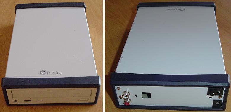 Plextor External CD-ROM Enclosure