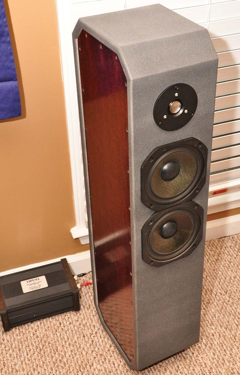medium resolution of finished ion tower speaker