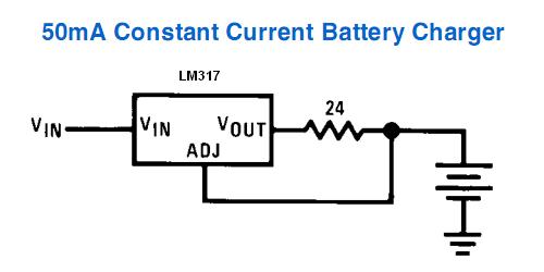 LM317 / LM338 / LM350 Current Regulator Calculator And