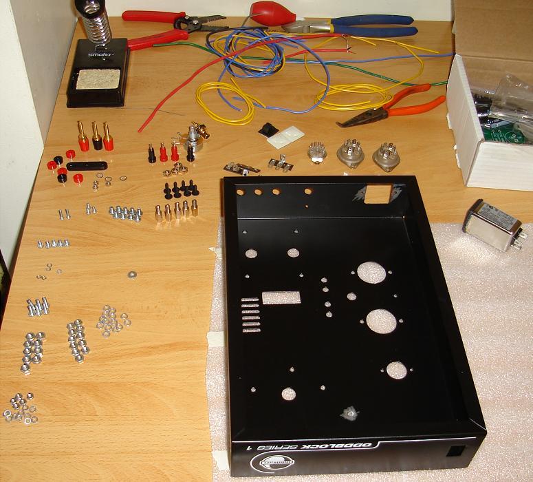 Oddwatt Audio Srpp Kt88 Push Pull Monoblock Tube
