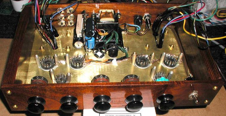 3 Channel Wiring Diagram Diy 6t9 Push Pull Tube Amplifier Project