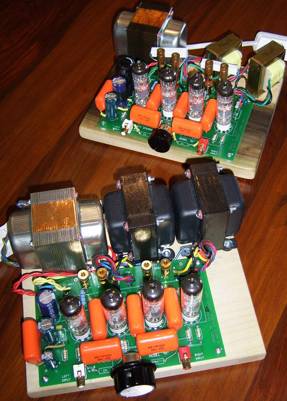 S 5 Electronics K 12m Tube Amplifier Kit