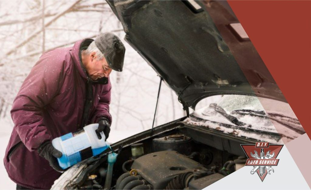 Change car antifreeze