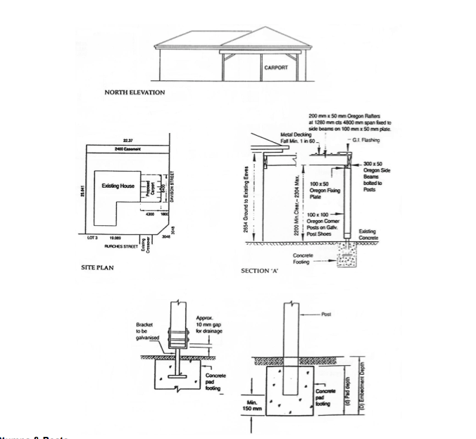 Attached Carport Plans Download Pdf Woodworking