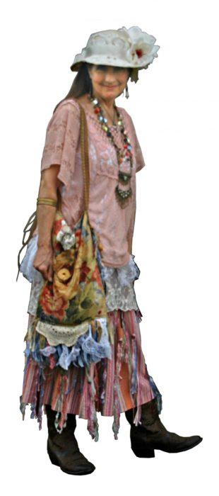 DSC_0056 - bohemian bag outfit w. ribbon skirt edit