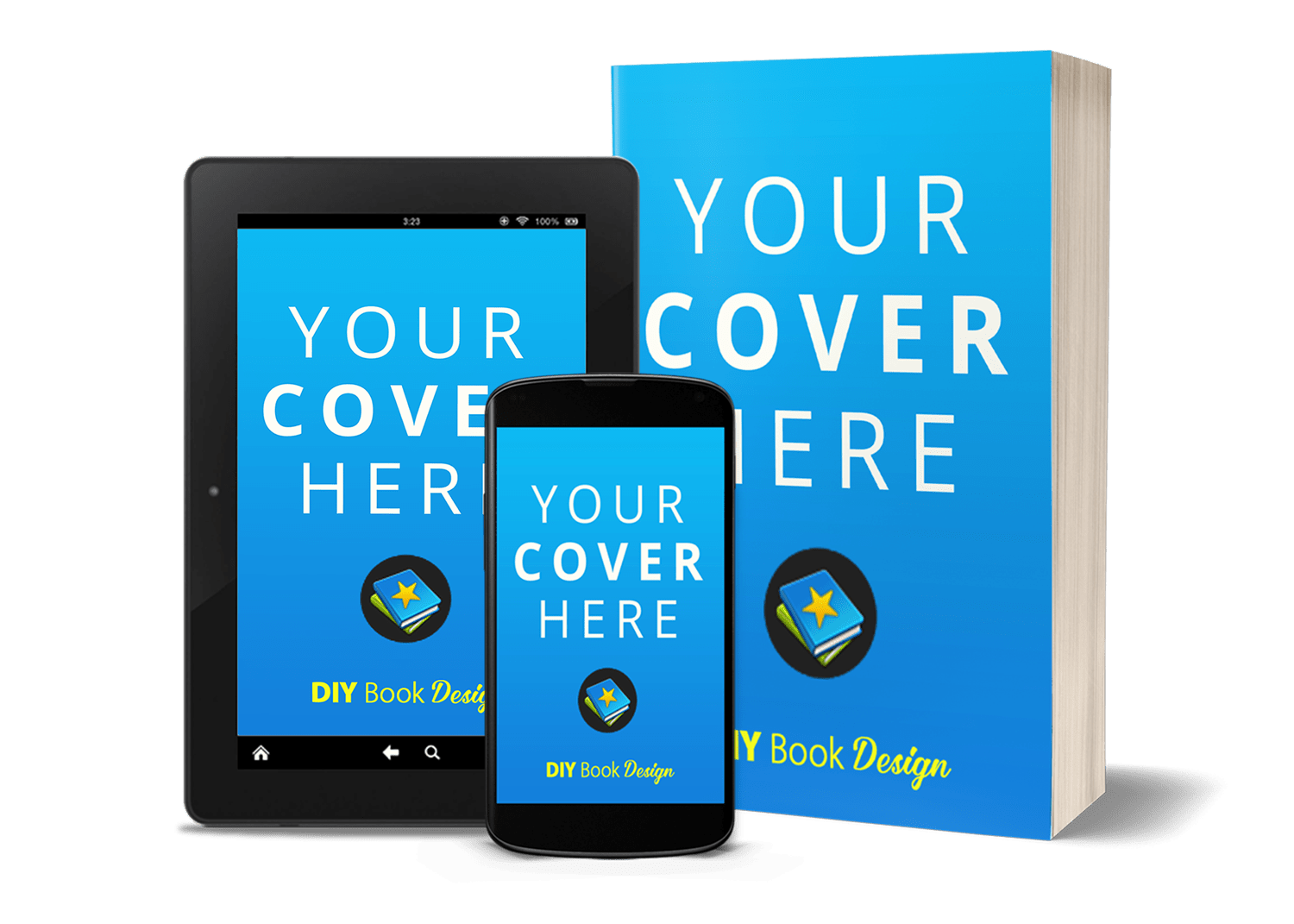 the 3d book cover