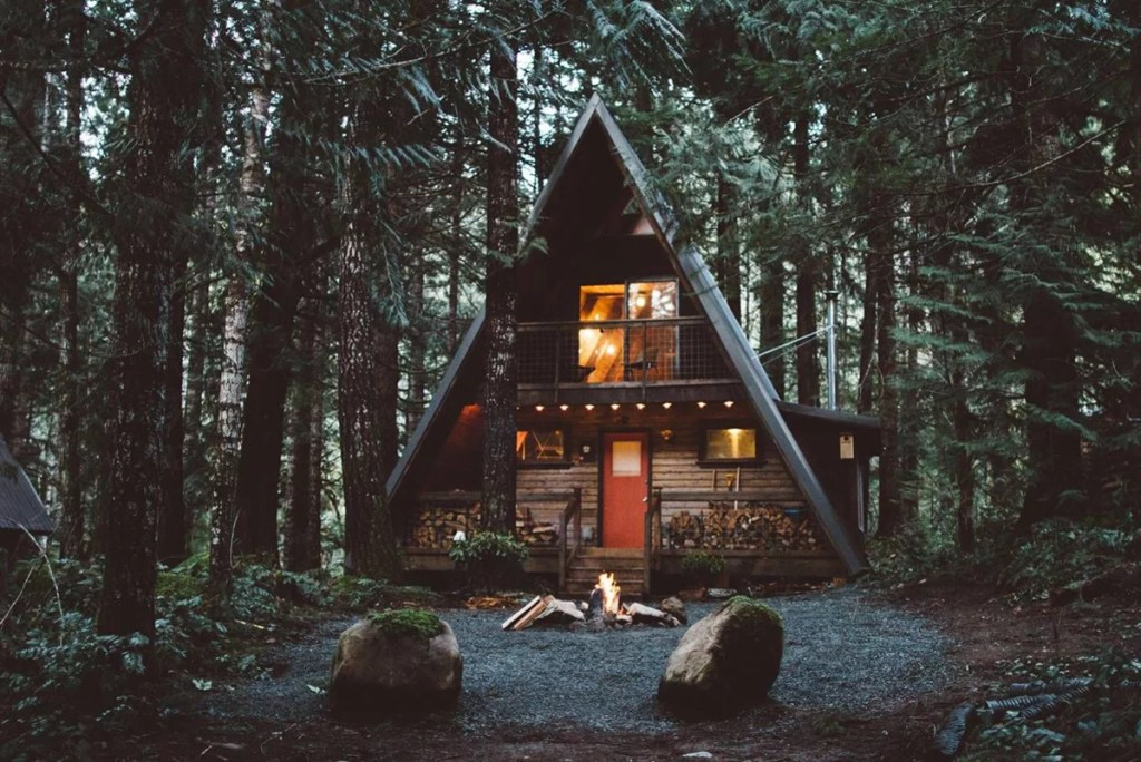 33-Most-Beautiful-A-Frame-Cabins-You-Can-Be-Dreaming Support this Site