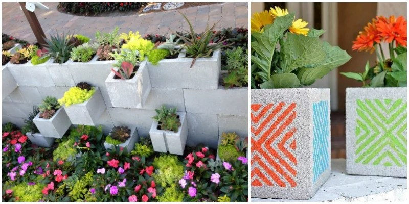 9 Super Easy Cinder Block Gardens to Revamp Your Backyard