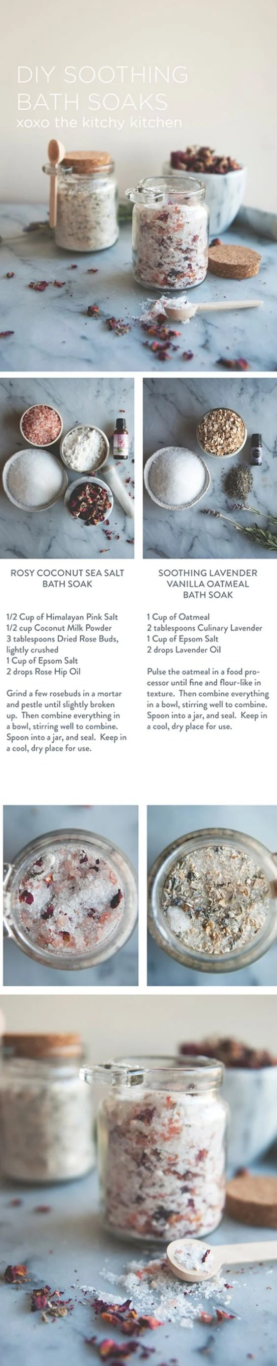 Mothers Day DIY-Bath Salts
