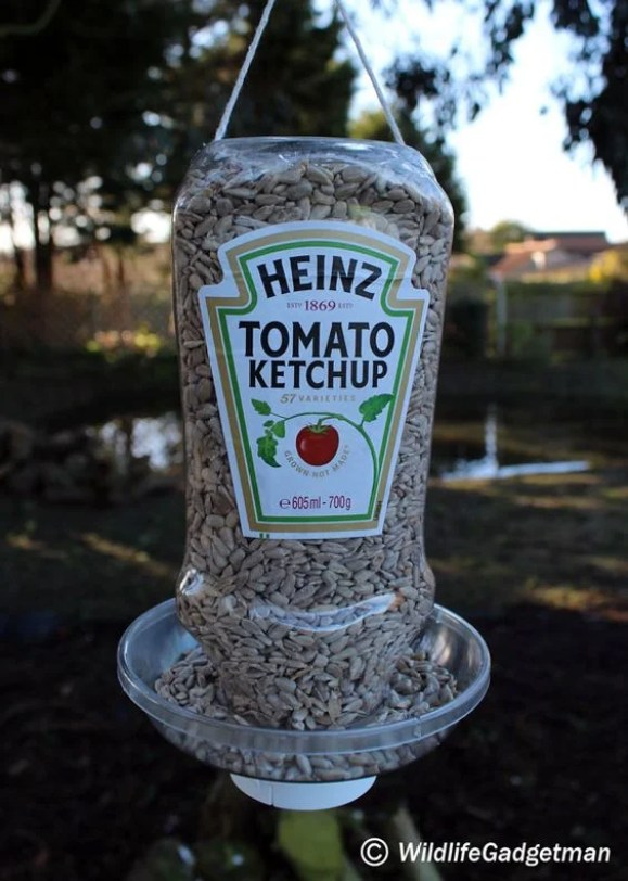 This Heinz ketchup recycle DIY is seriously GENIUS!