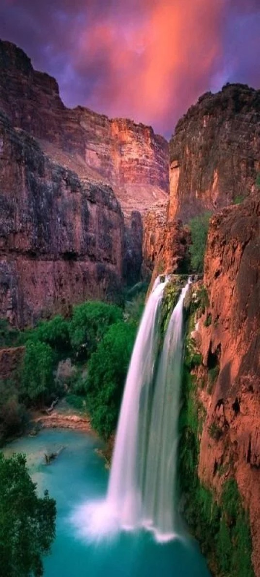 Havasu Falls can be found in Havasu Falls, Supai, AZ and definitely will not disappoint!