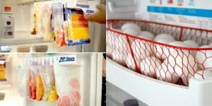 17 Useful Fridge & Freezer Hacks to Streamline Your Kitchen Routine