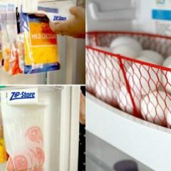 15 Useful Fridge & Freezer Hacks to Streamline Your Kitchen Routine