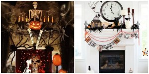 17 Boo-tiful Halloween Mantels You Gotta See