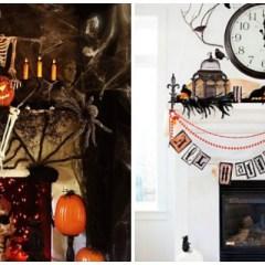 17 Boo-tiful Halloween Mantels You Gotta See