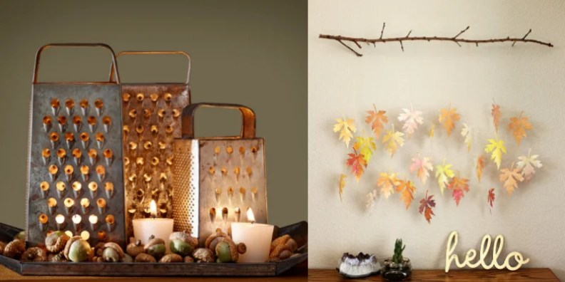 Thanksgiving diy decor you can make on the cheap