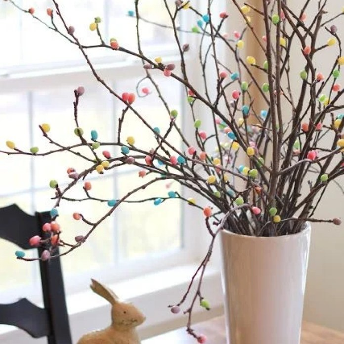 Easter Egg Tree Decor DIY