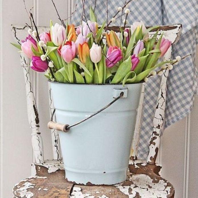 Fancy Easter Flower Arrangement Decoration