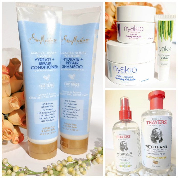 Amazing skin and hair products for dryness and damage.