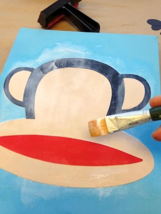 Can I Put Mod Podge Over Acrylic Paint : podge, acrylic, paint, Podge, Canvas, Design, Candy
