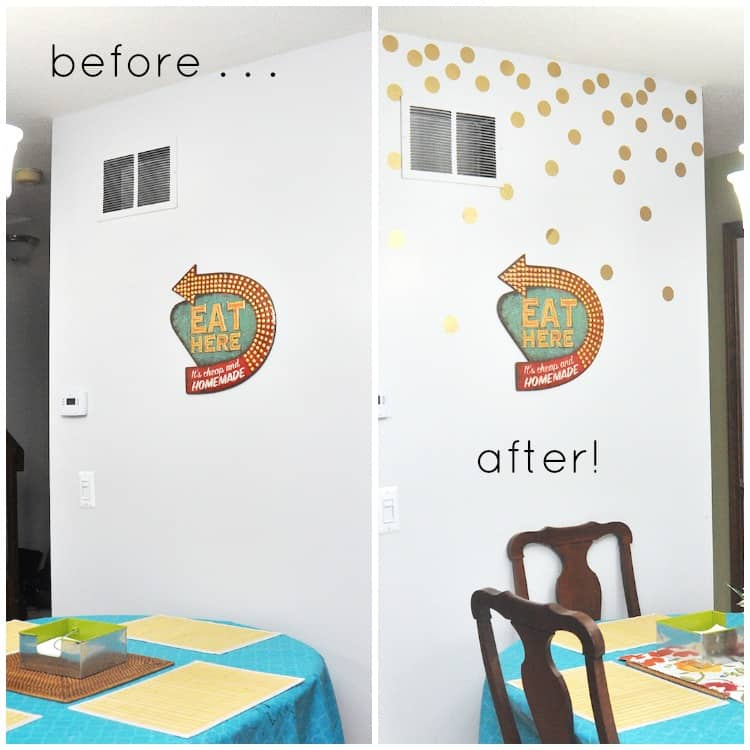 Make Gold Removable Wall Decals