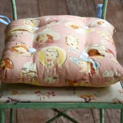 Sewing Patterns For Chair Cushions Ergonomic Furniture Jobs Simple Tie On Diy Cushion In An Hour Candy