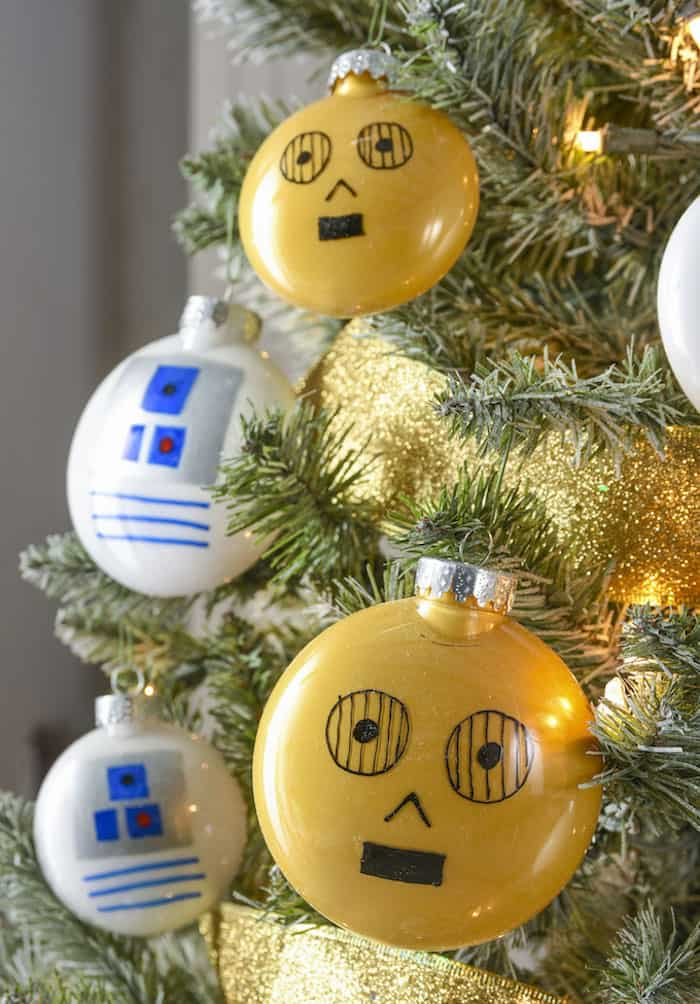 Droid Themed Star Wars Christmas Tree DIY Candy