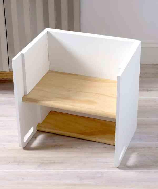 DIY Wooden Step Stool