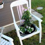 Diy Blumenstuhl In Shabby Chic Einfach Selber Machen Und Bepflanzen