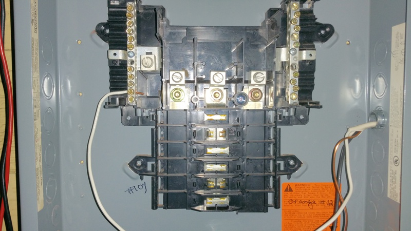 Wire A 3 Phase Subpanel From A 2 Phase Main Breaker Box