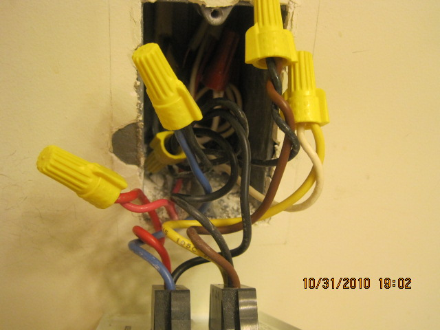 Wiring For Replacing A Bathroom Fan, Heater, Light And