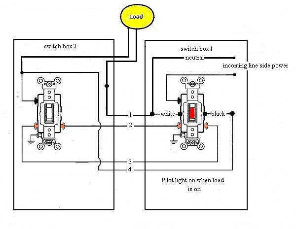 3 Way Switch With Pilot Light