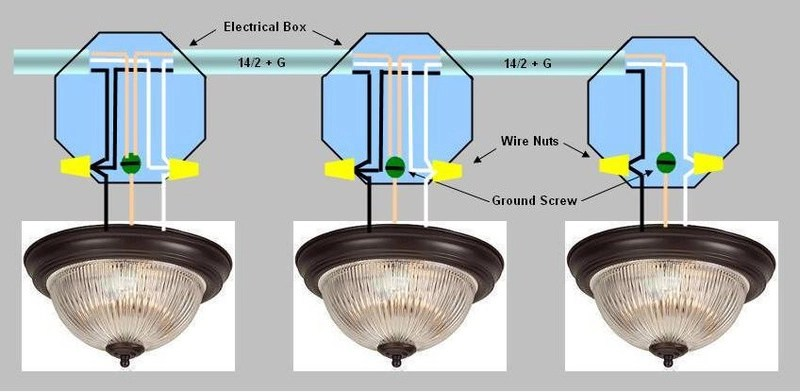 3-way Switch For Multiple Recessed Lights
