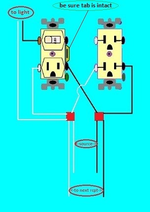 Wiring Switch Outlet Combo : wiring, switch, outlet, combo, Combo, Light, Switch, Outlet, Re-wire, Question, Improvement, Forum