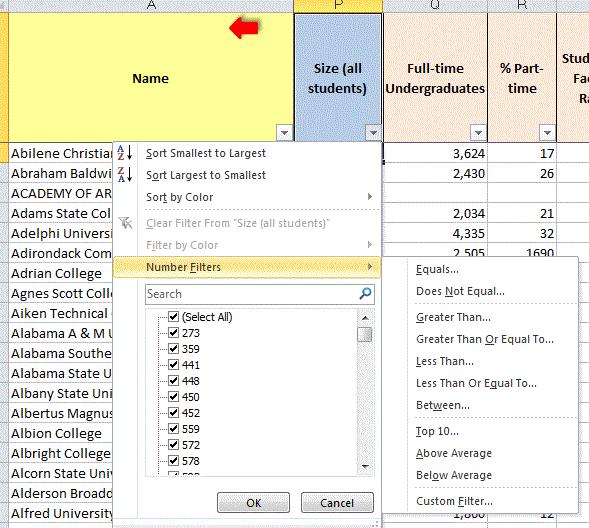 College Softball Data