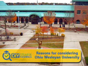 Ohio Wesleyan University campus