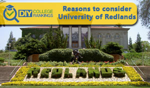 University of Redlands campus