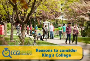 King's College campus