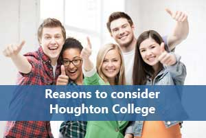 Houghton college students