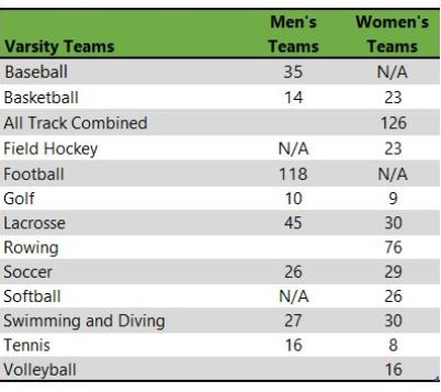 University of Delaware athletic teams