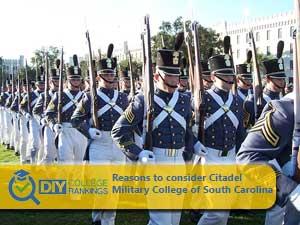 Citadel Military College campus